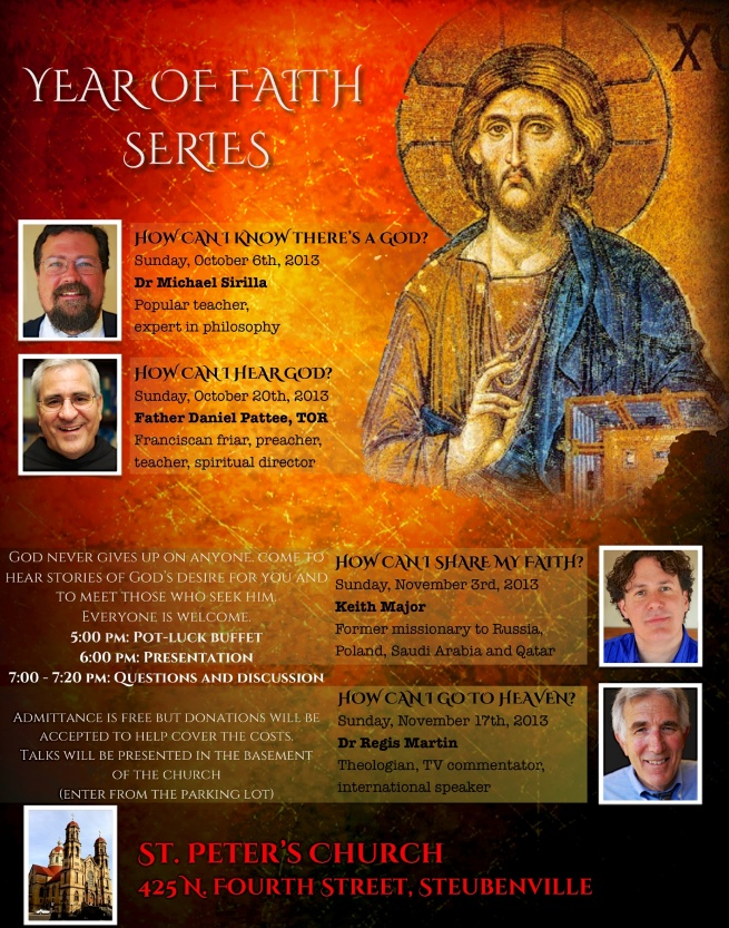 St. Peter's Year of Faith Series